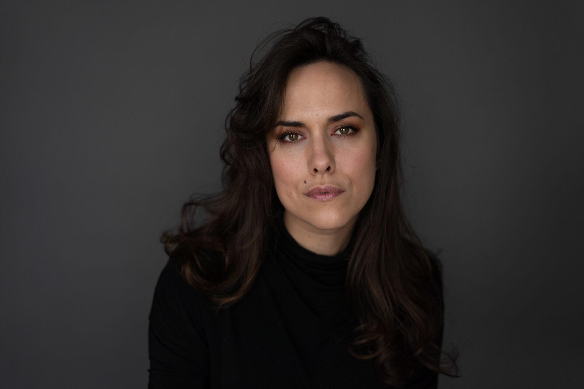 La réalisatrice Carinne Leduc