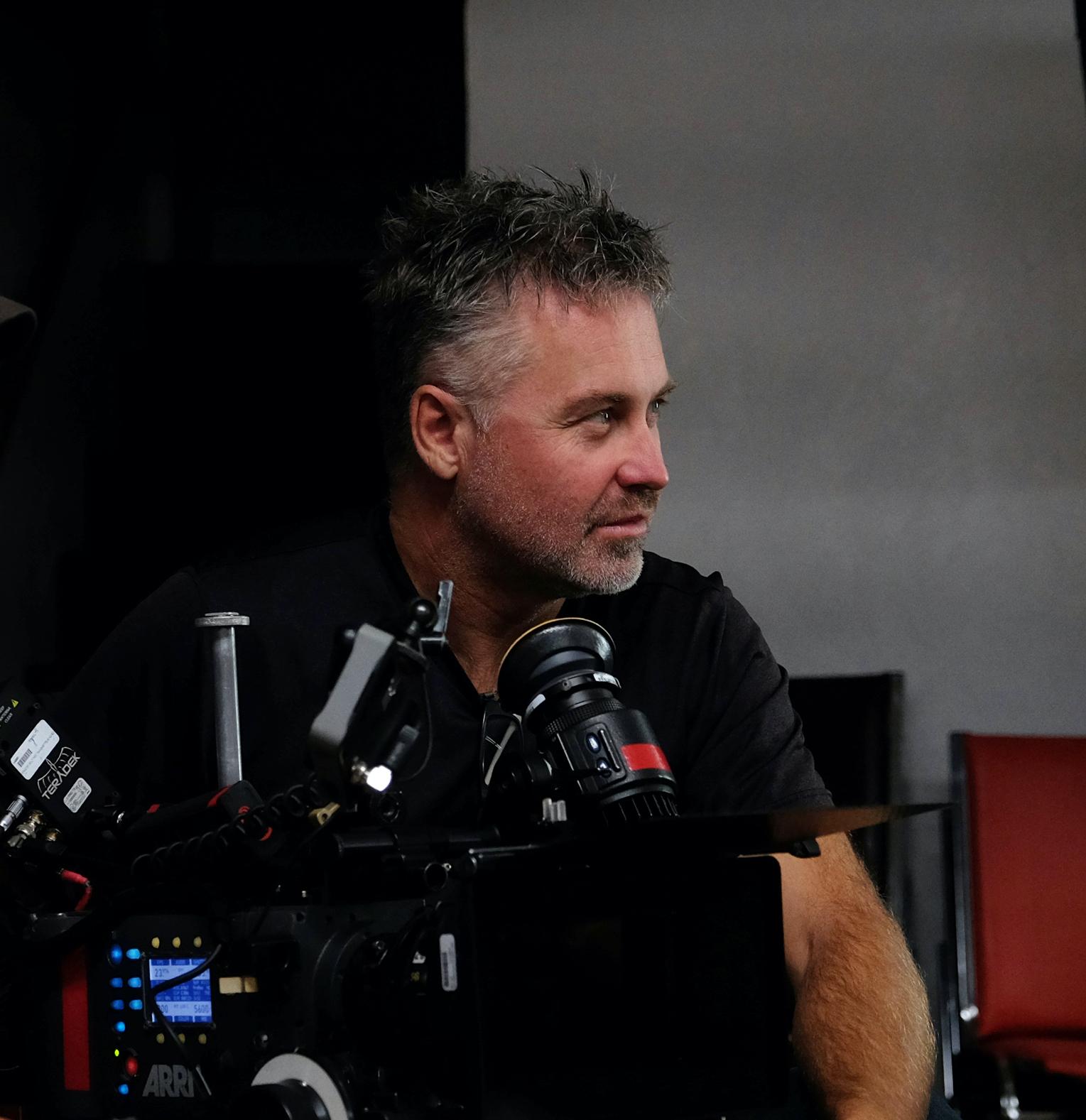 Le réalisateur Jim Donovan