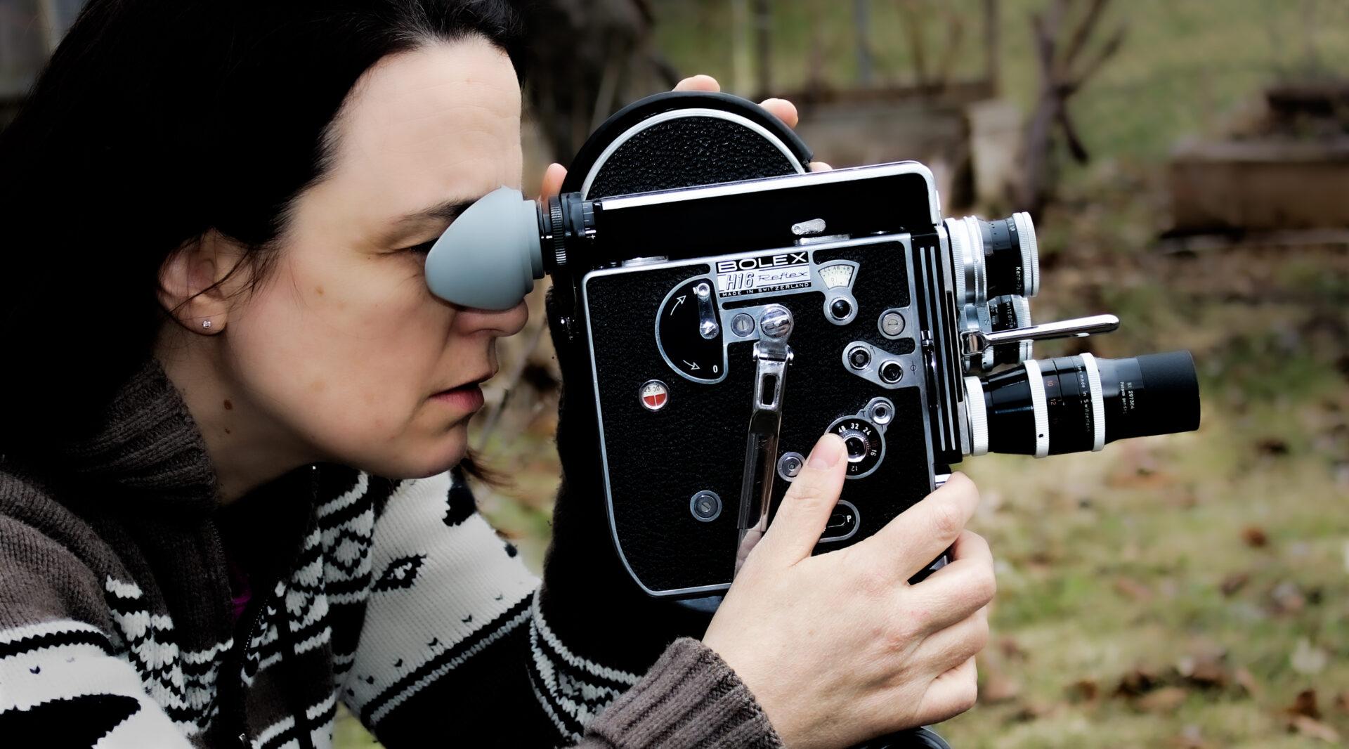 La réalisatrice Nicole Blundell