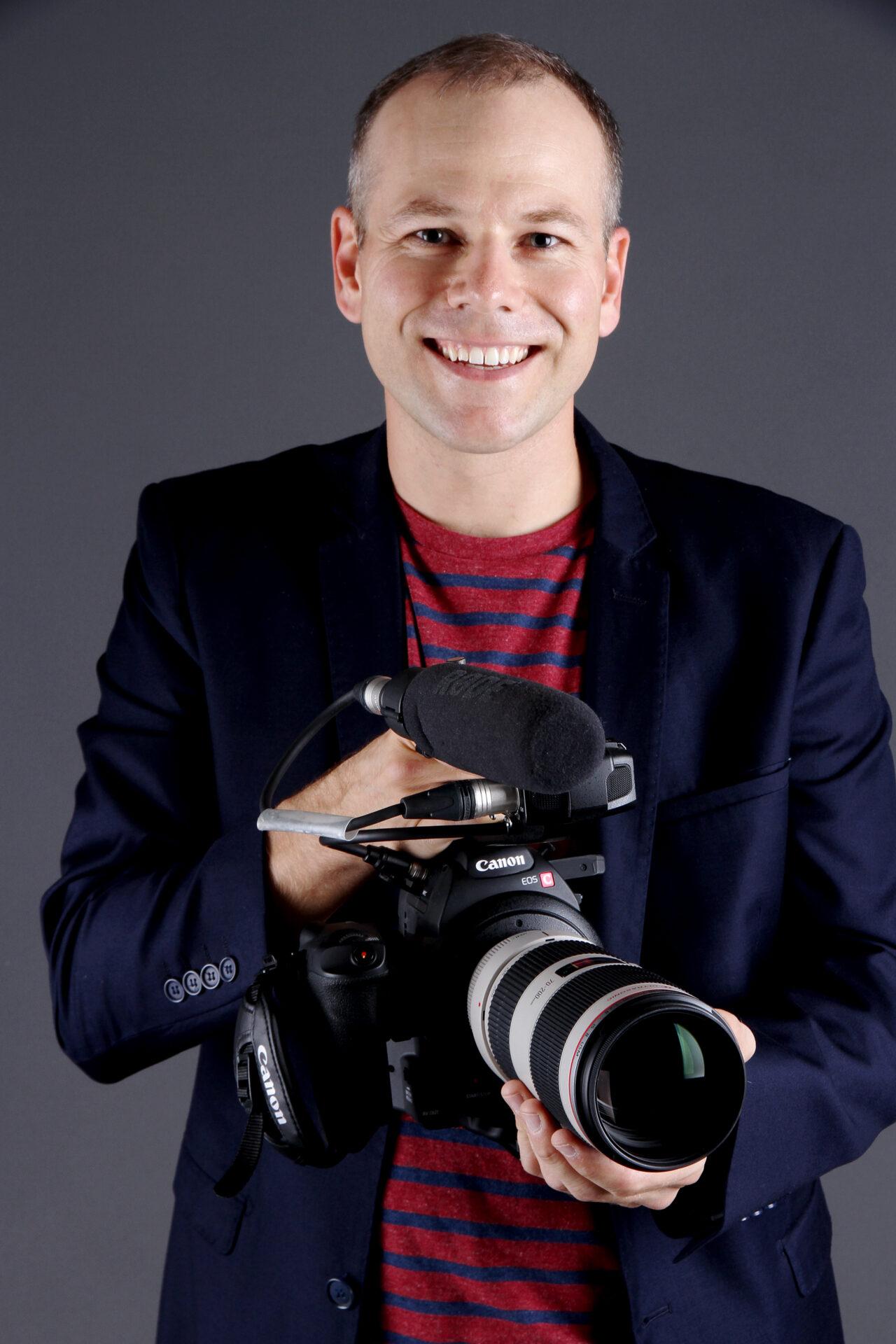 Le réalisateur Yves Charron